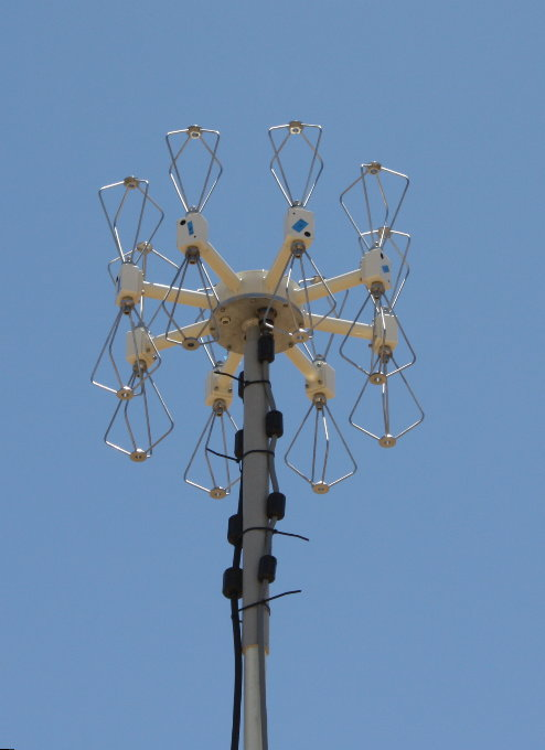 uhf df antenna